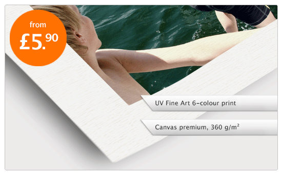 UV Fine Art canvas print