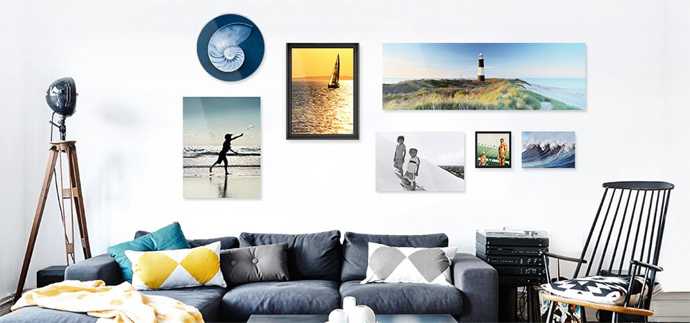 foto abzug hinter gl nzendem acrylglas whitewall. Black Bedroom Furniture Sets. Home Design Ideas