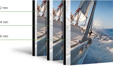 Foto-Abzug hinter Acrylglas gestalten