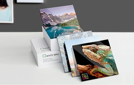 Acrylic Photo Prints Glass Sample Pack