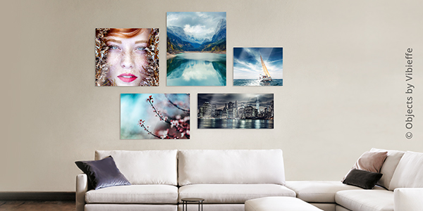 Your photos under acrylic glass