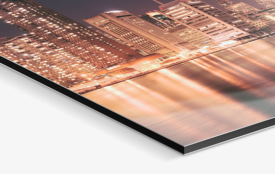 aluminum prints metal dibond photo print whitewall