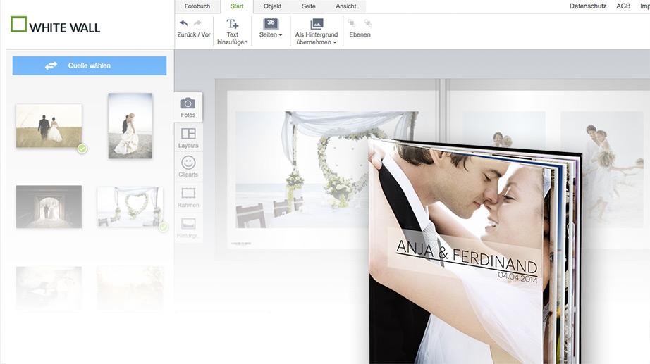 fotobuch gestalten erstellen hochwertig whitewall. Black Bedroom Furniture Sets. Home Design Ideas