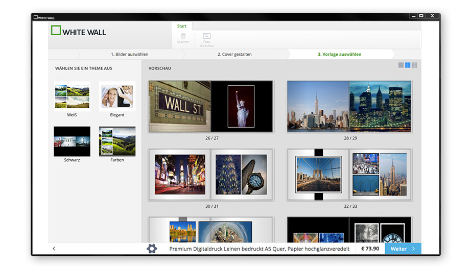 Fotobuch Software Windows und Mac