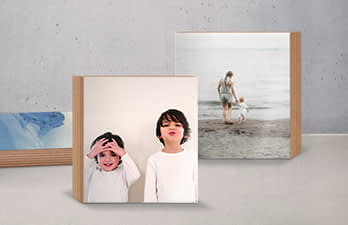 Great photo gift, photo printed on wood