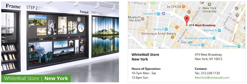 WHITEWALL'S STORE: NOW OPEN IN NEW YORK