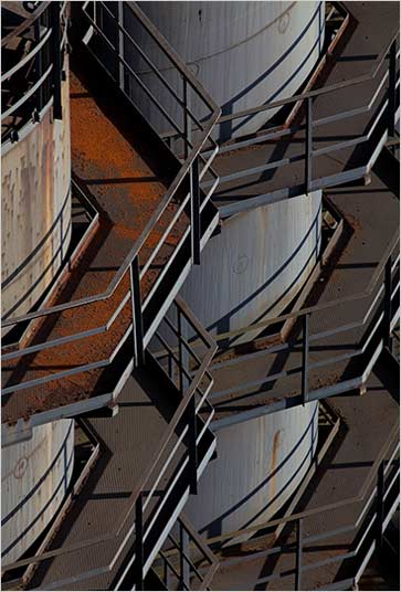 Symmetrische Blickführung durch Bildkomposition