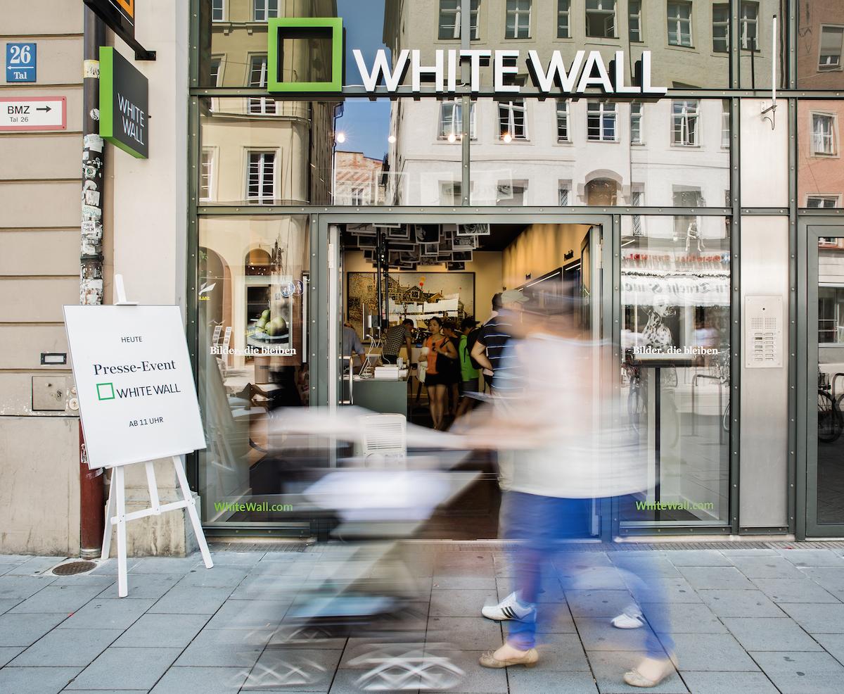 WhiteWall Store München | Interview: Annika Vonjahr | WhiteWall