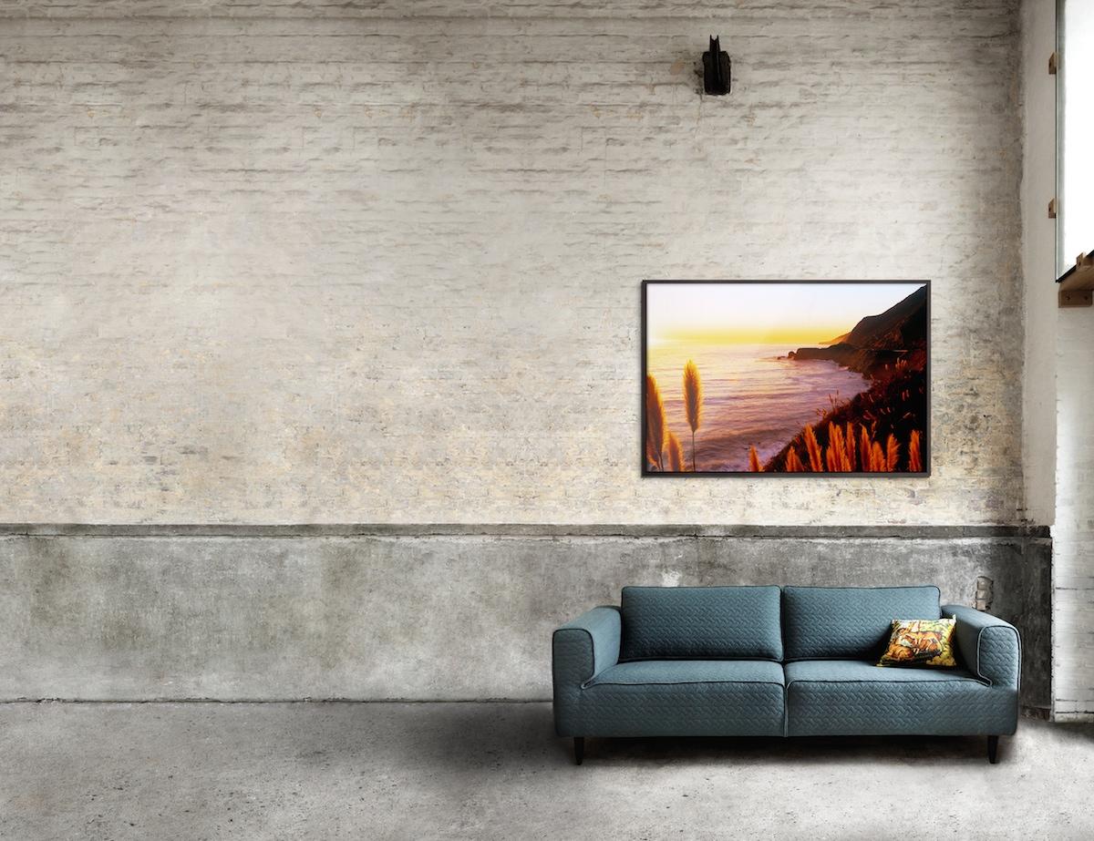 Bilder anordnen: Solisten-Hängung als dekorative Hängungsart von Kunst und Fotografie.