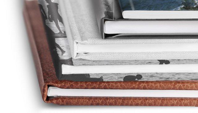 Fotobücher mit thematisch angepasstem Cover.