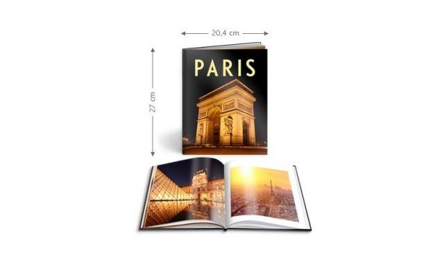 WhiteWall Fotobücher gibt es in verschiedenen Formaten.