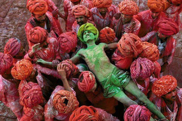Steve McCurry auf der Foto Biennale