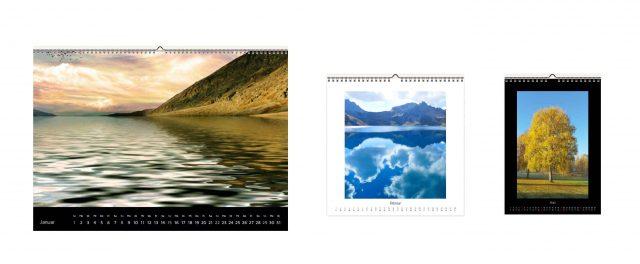 Mit WhiteWall gibt es verschiedene Optionen, um einen Fotokalender zu erstellen.