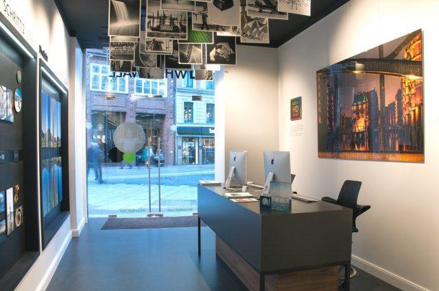 Der neue WhiteWall Store in Hamburg