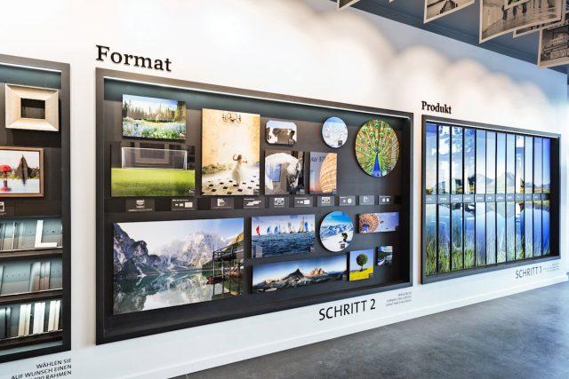 Der neue WhiteWall Store visualisiert das Drei-Schritte-System
