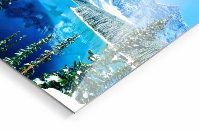 Ein HD Metal Print eignet sich für kontrastreiche Motive