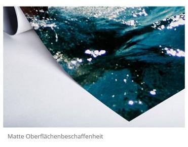 Durch Hahnemühle FineArt Papier erhält das Bild noch mehr Ausdruck