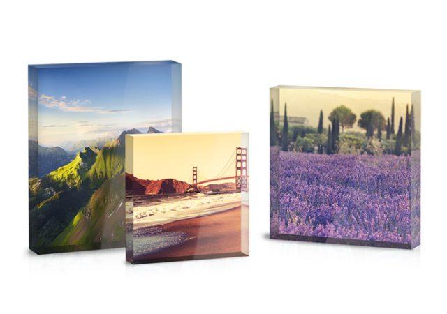 Der Acrylblock ist ein unkompliziertes Fotogeschenk