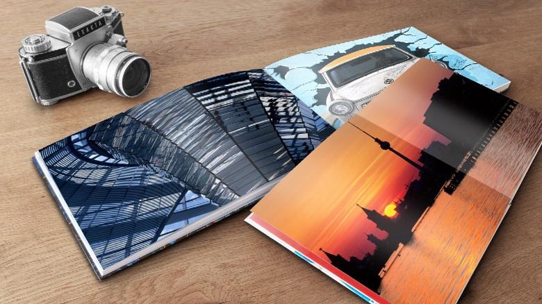 Ein Fotobuch zeigt die schönsten Momente in chronologischer oder thematischer Reihenfolge