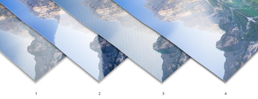 Die hochwertige Papierauswahl ist ein weiteres Gestaltungsmerkmal