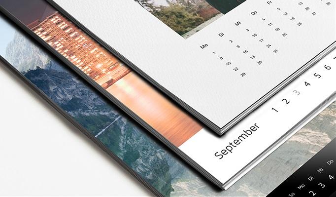 Der WhiteWall Fotokalenders kann den eigenen Wünschen angepasst werden