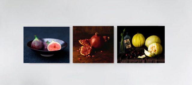 Küchenbilder wirken besonders als symmetrische Collage