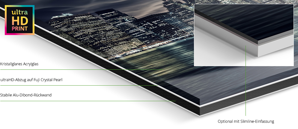 metallic foto hinter acrylglas ultrahd whitewall. Black Bedroom Furniture Sets. Home Design Ideas