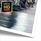 Metallic-Foto hinter Acrylglas ultraHD