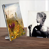 Acrylic Photo Glass Stand create
