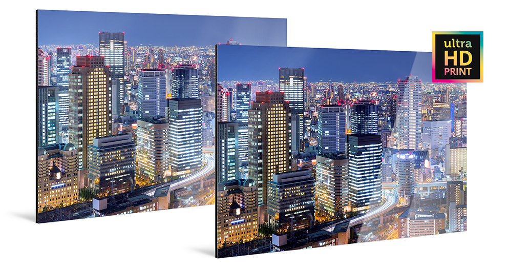 ultraHD Photo Prints On Aluminum Dibond
