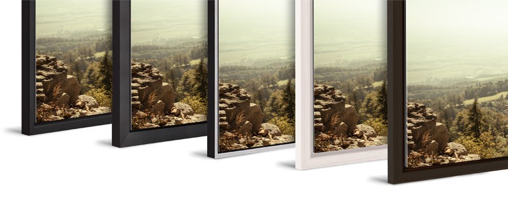 selecting the right frame will go a long way toward maintaining that mood we offer a range of styles and materials that all differ significantly