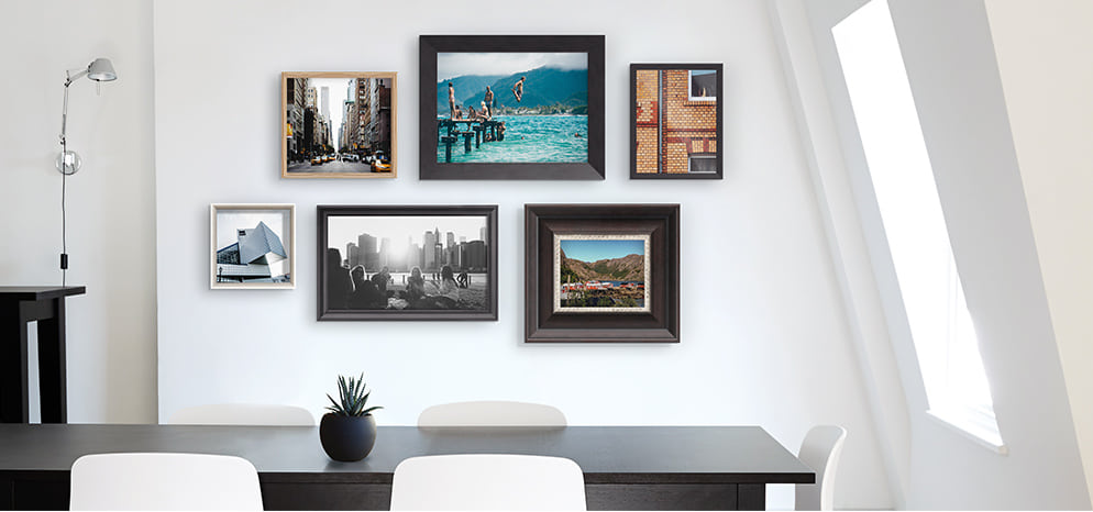 Gallery Frame Is Made To Order Just For Your Photo