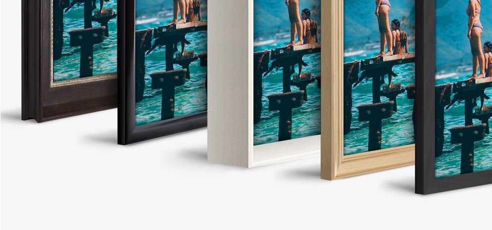 Photo Print With Wood Frame order