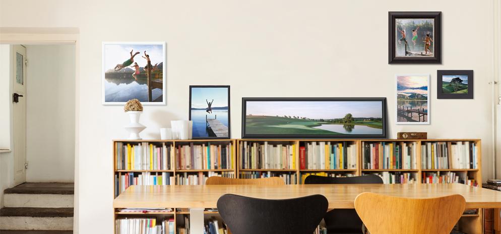 Galerielijst van massief hout online bestellen whitewall - Massief decoratief ...