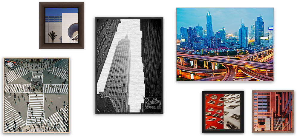 HD Metal Photo Prints with frame