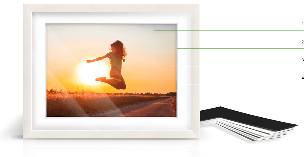 Photo Print With Shadow Box Frame | WhiteWall