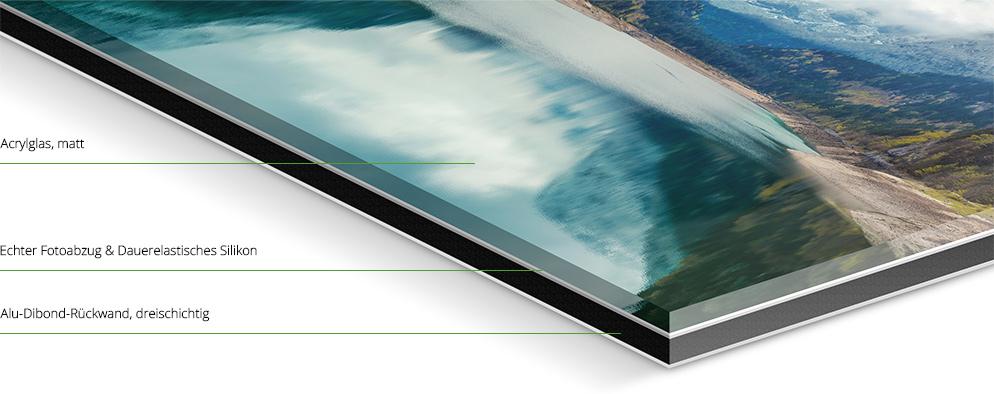 fotos hinter mattem acrylglas online bestellen whitewall. Black Bedroom Furniture Sets. Home Design Ideas