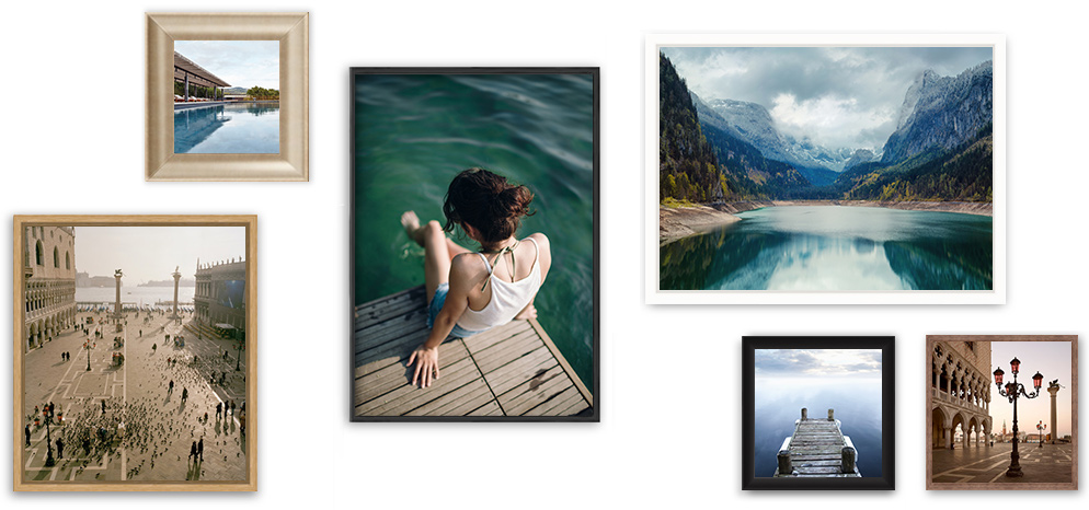 how to hang acrylic prints - Photo Print Under Matte Acrylic