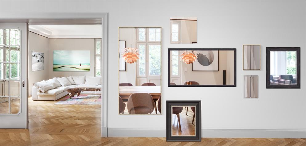spiegel nach ma online kaufen wandspiegel mit rahmen. Black Bedroom Furniture Sets. Home Design Ideas