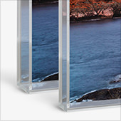 Photo Print with Acrylic Box Frame