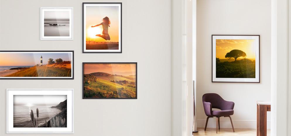 vitrinenrahmen nach ma bilderrahmen g nstig bei whitewall. Black Bedroom Furniture Sets. Home Design Ideas