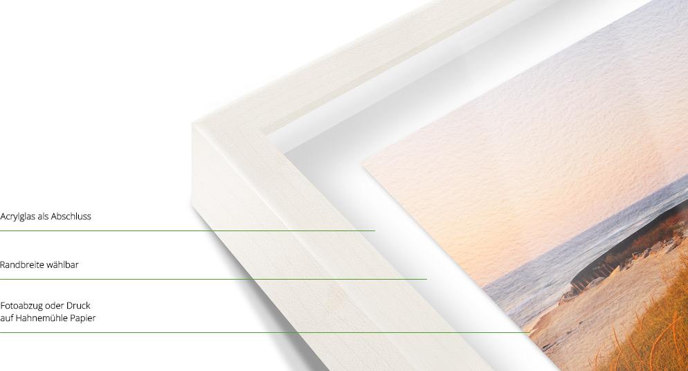 foto im vitrinen rahmen nach ma bilderrahmen g nstig bei whitewall. Black Bedroom Furniture Sets. Home Design Ideas