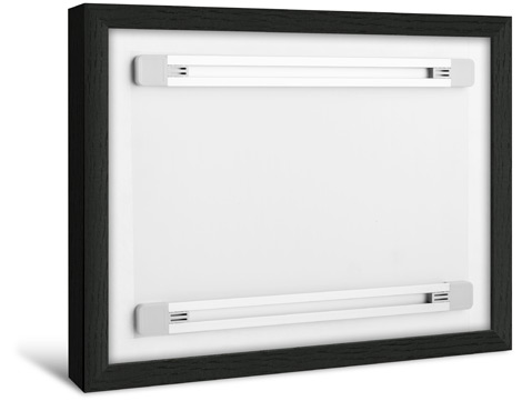 Photo Print With Shadow Box Frame - Integrated Hanging System
