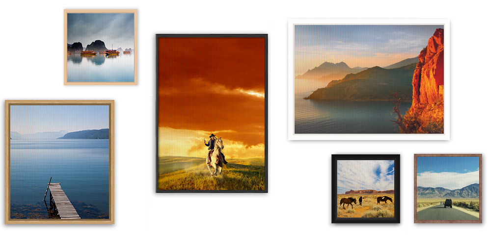 Order your Textile photo print on stretcher frame