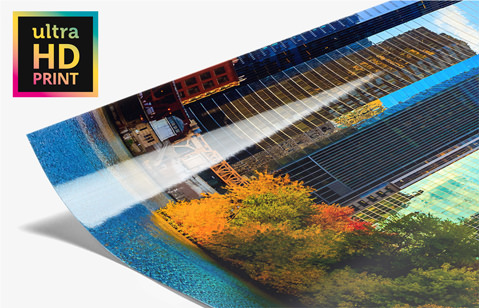 Maximum Detail Density And Precise Contours With UltraHD Photo Prints