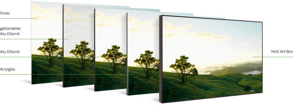 foto in artbox aus holz whitewall. Black Bedroom Furniture Sets. Home Design Ideas