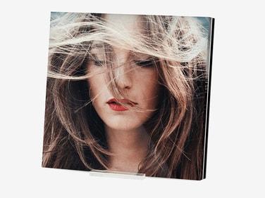 Fotoaufsteller aus Acrylglas