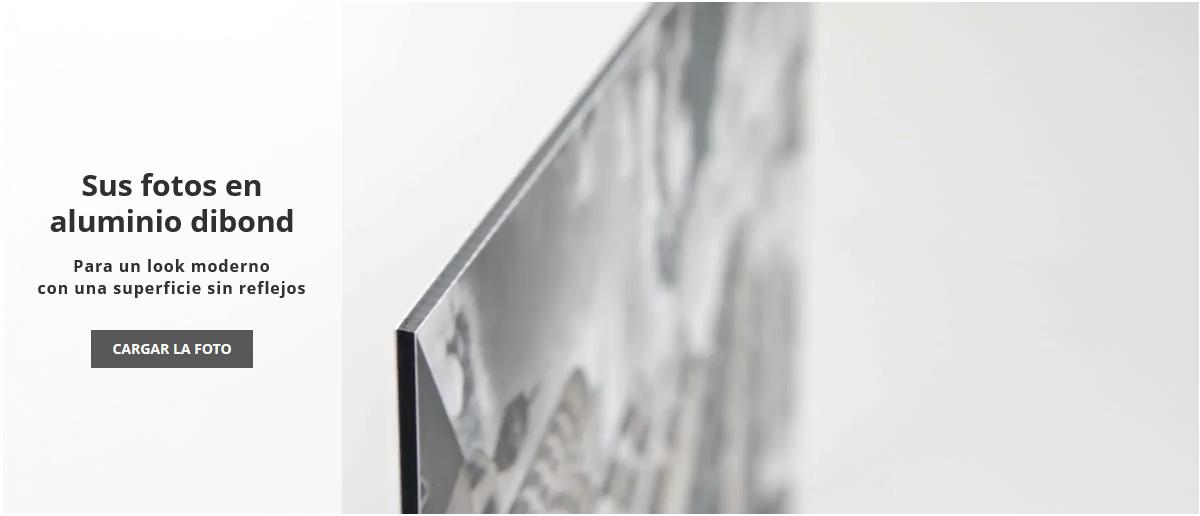 Imprimir fotos en una estable placa de aluminio con WhiteWall
